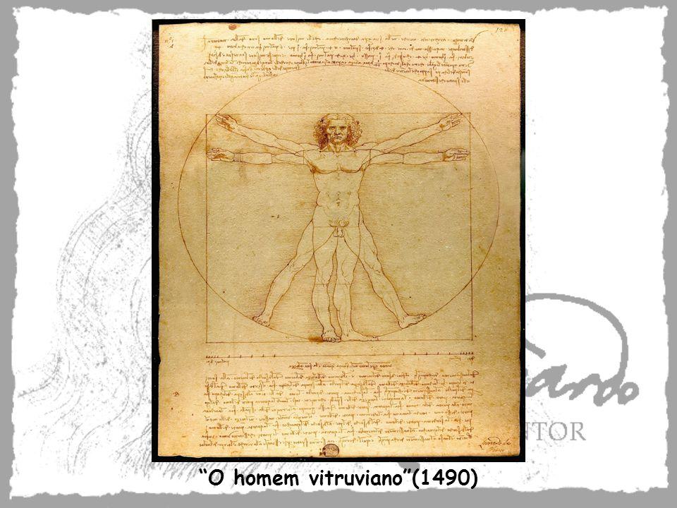O homem vitruviano (1490)