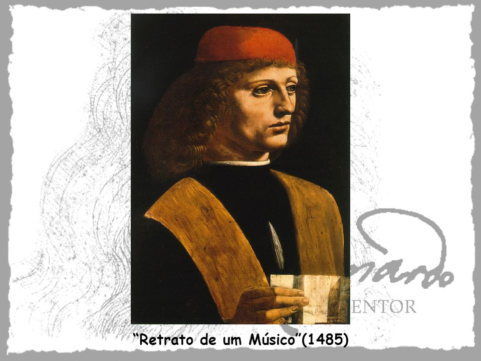 Retrato de um Músico (1485)
