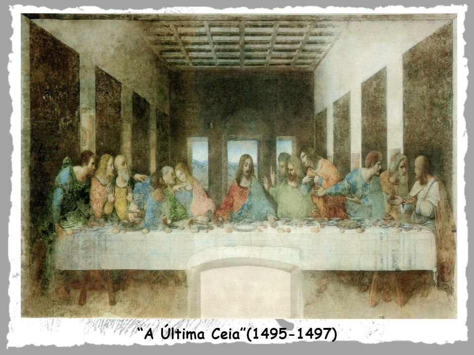 A Última Ceia (1495-1497)