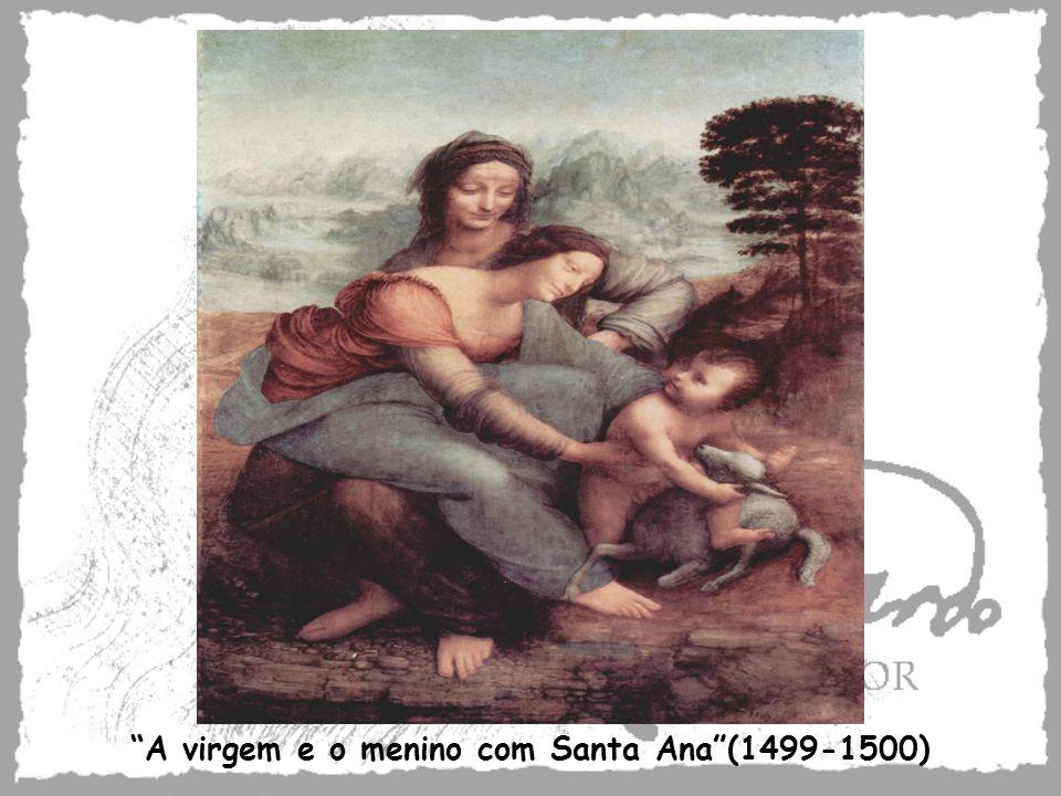 A virgem e o menino com Santa Ana (1499-1500)