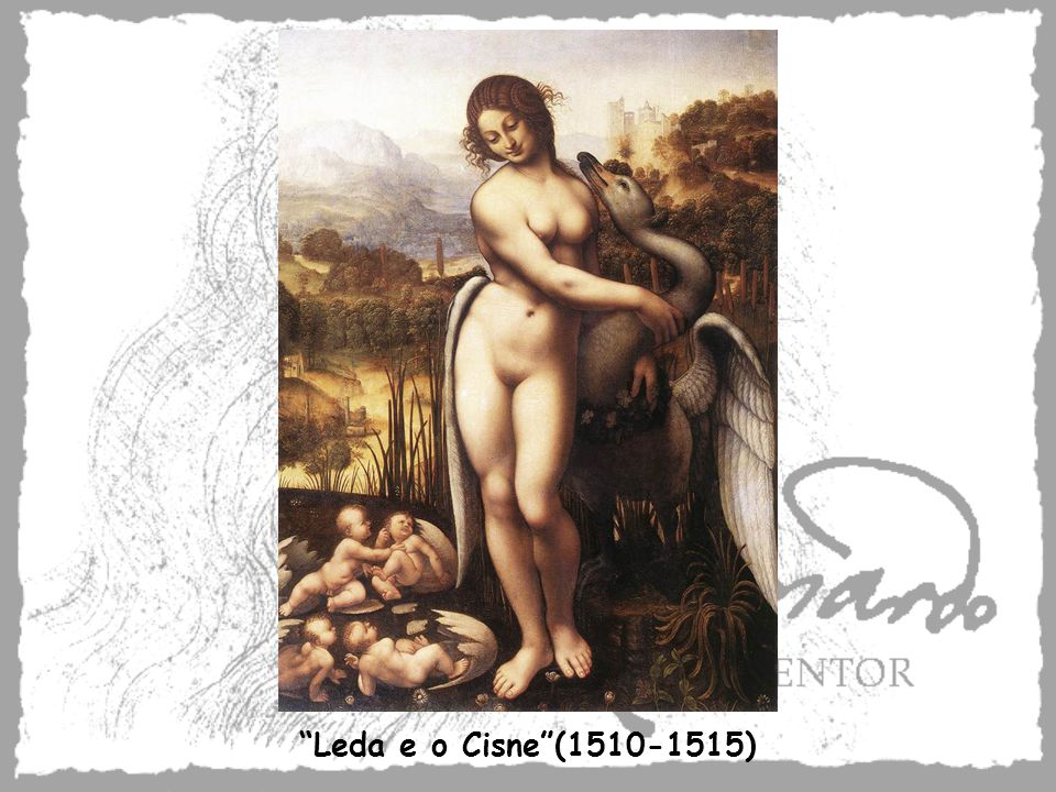 Leda e o Cisne (1510-1515)