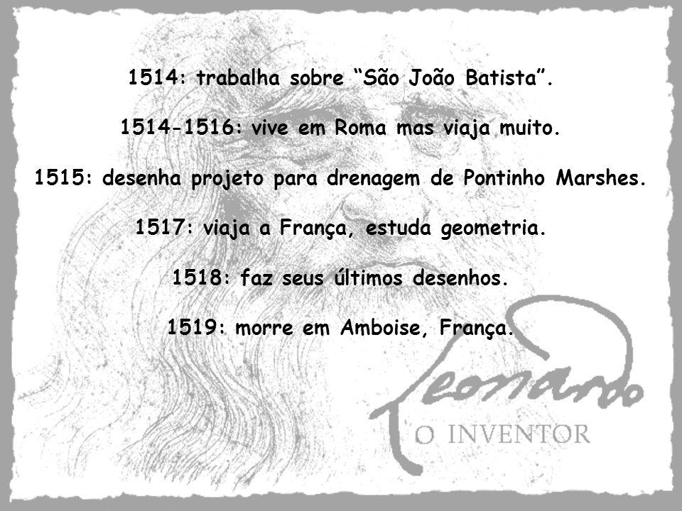 1514: trabalha sobre São João Batista