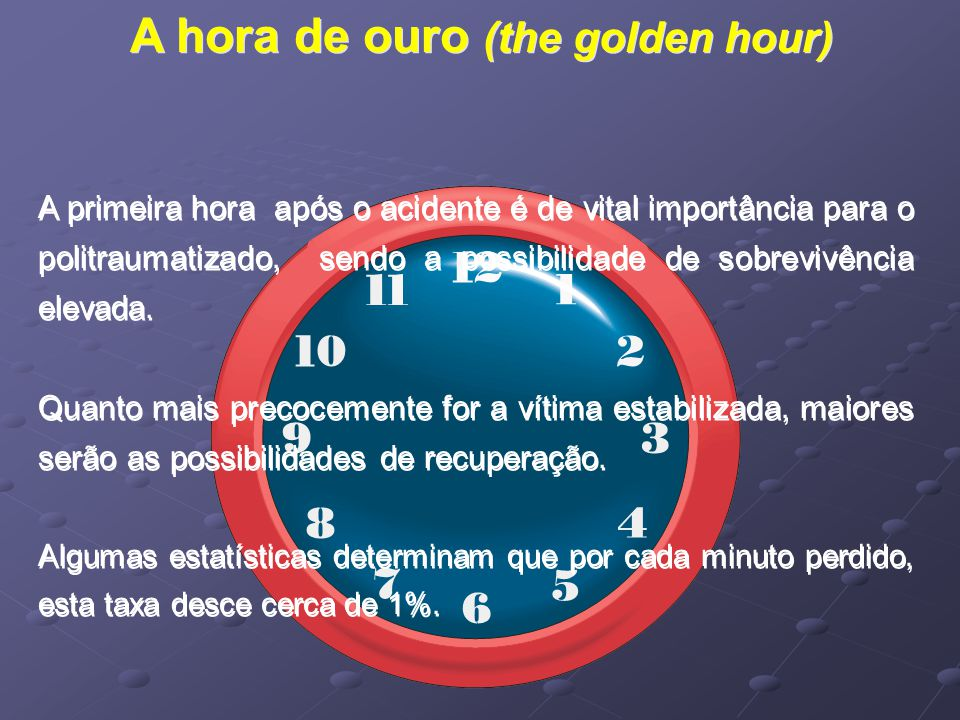 A hora de ouro (the golden hour)