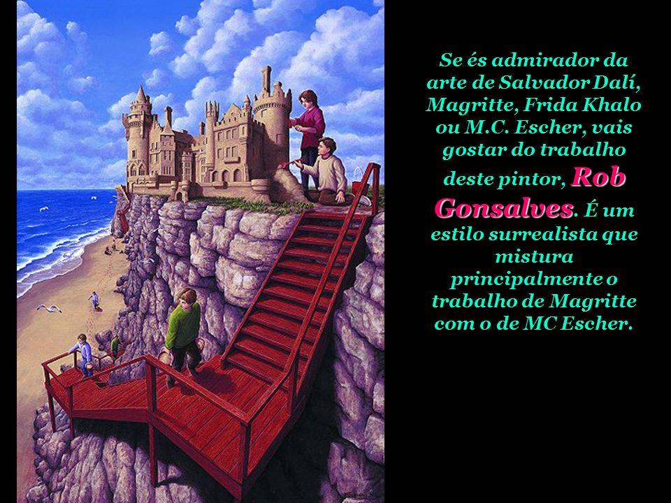 Se és admirador da arte de Salvador Dalí, Magritte, Frida Khalo ou M.C.