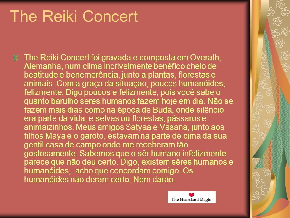 The Reiki Concert