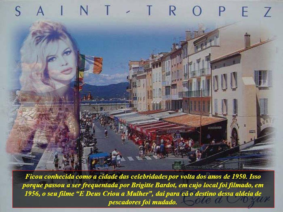 Ficou conhecida como a cidade das celebridades por volta dos anos de 1950.