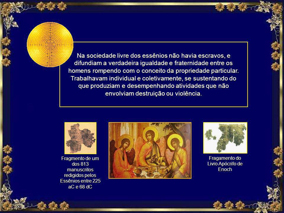 Fragamento do Livro Apócrifo de Enoch