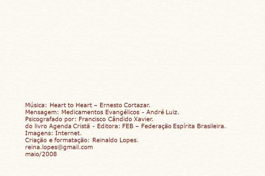 Música: Heart to Heart – Ernesto Cortazar.