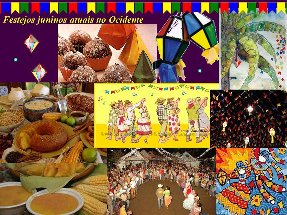 Festejos juninos atuais no Ocidente