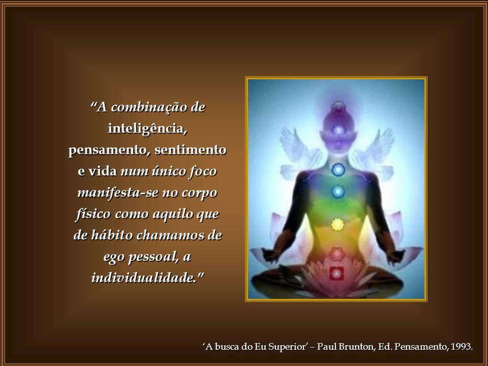 A combinação de inteligência, pensamento, sentimento e vida num único foco manifesta-se no corpo físico como aquilo que de hábito chamamos de ego pessoal, a individualidade.