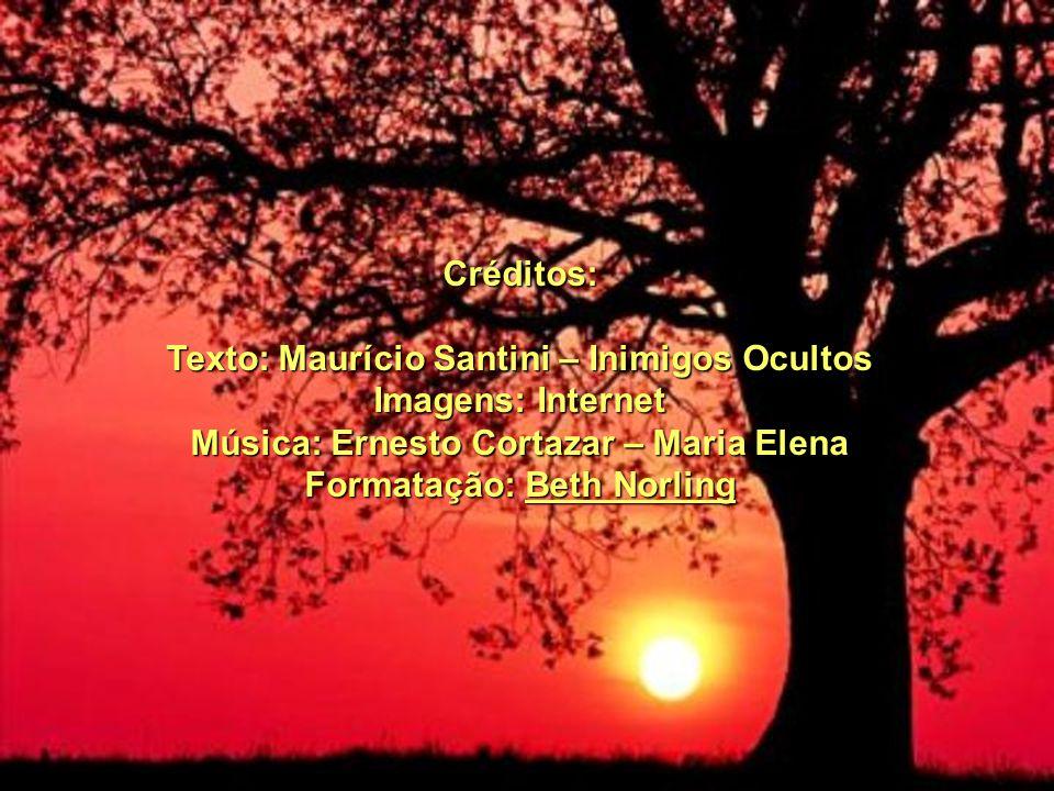 Texto: Maurício Santini – Inimigos Ocultos Imagens: Internet