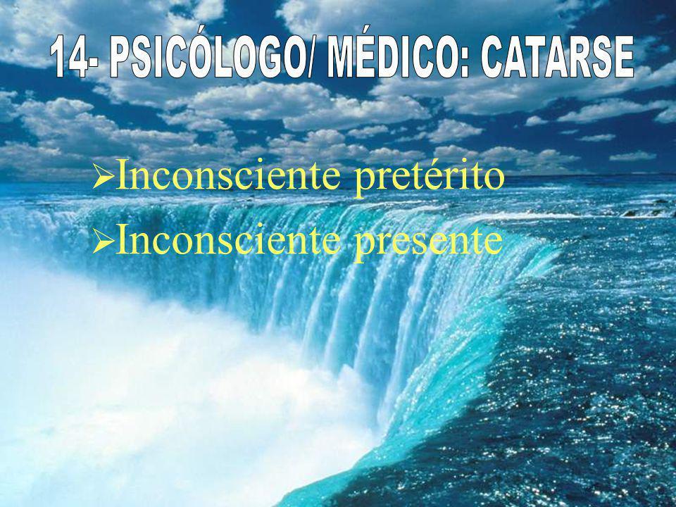 14- PSICÓLOGO/ MÉDICO: CATARSE