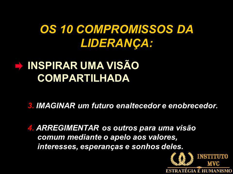 OS 10 COMPROMISSOS DA LIDERANÇA:
