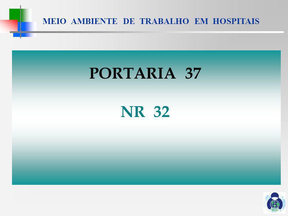 PORTARIA 37 NR 32