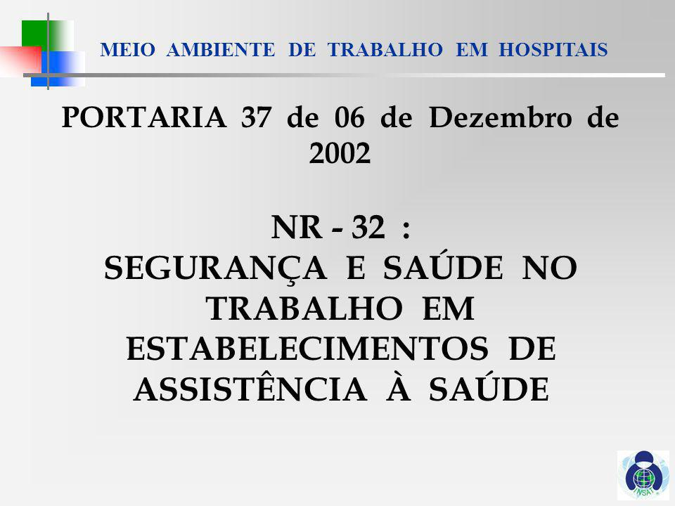 PORTARIA 37 de 06 de Dezembro de 2002