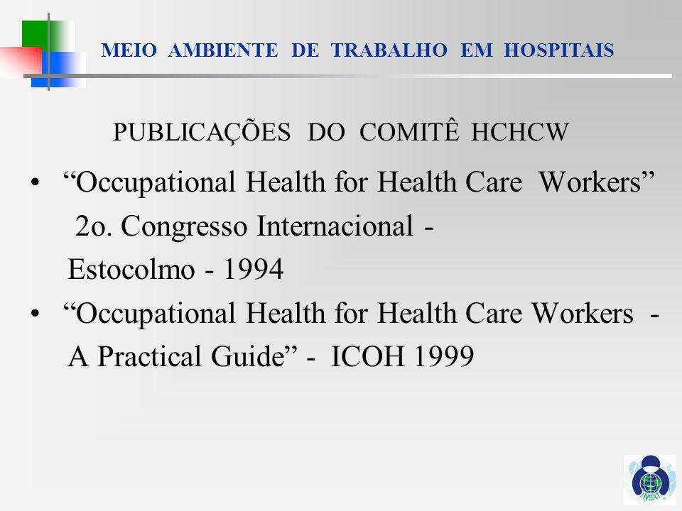 PUBLICAÇÕES DO COMITÊ HCHCW