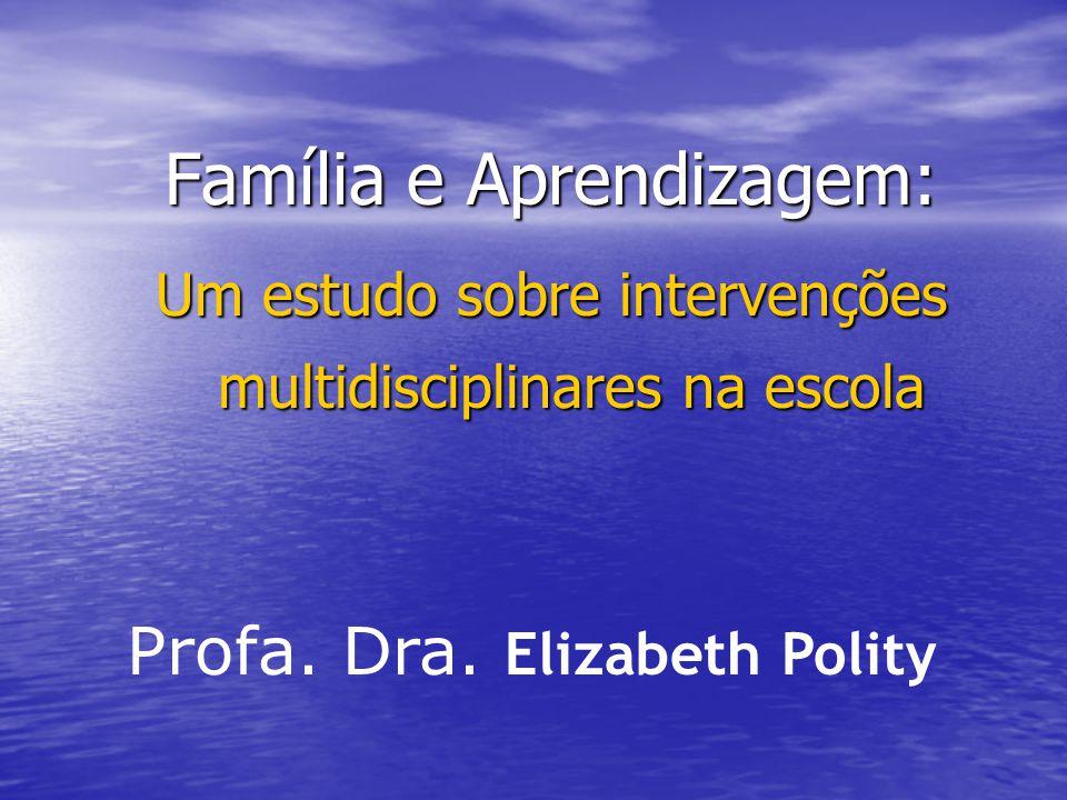 Família e Aprendizagem: