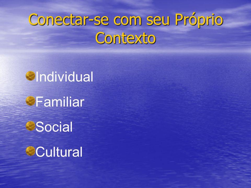 Conectar-se com seu Próprio Contexto