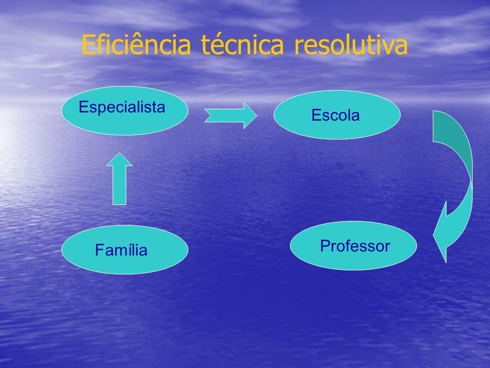 Eficiência técnica resolutiva