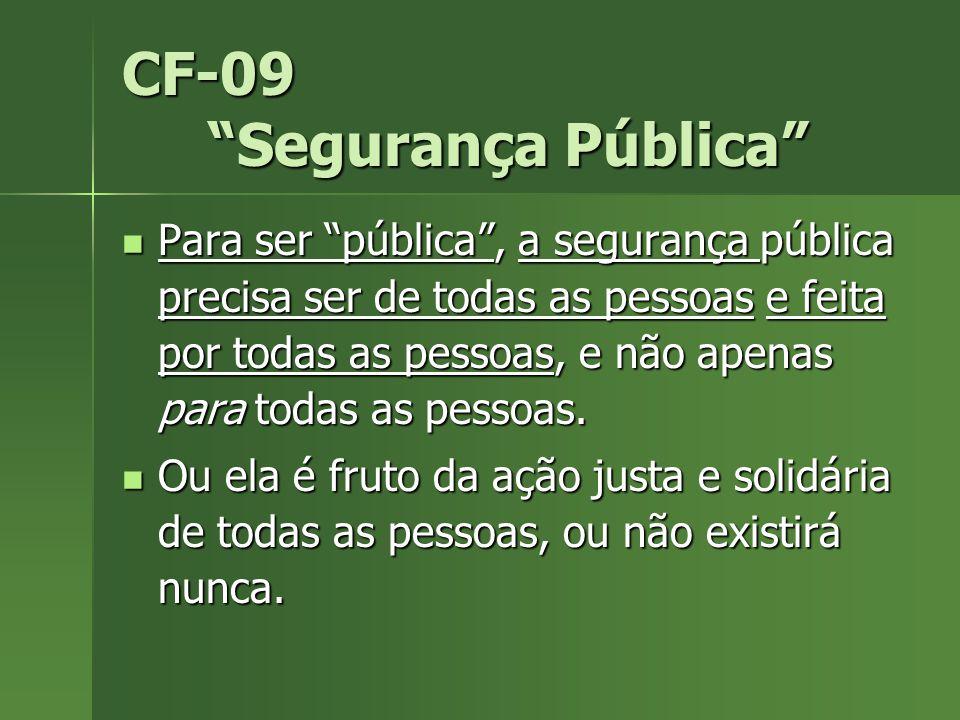 CF-09 Segurança Pública