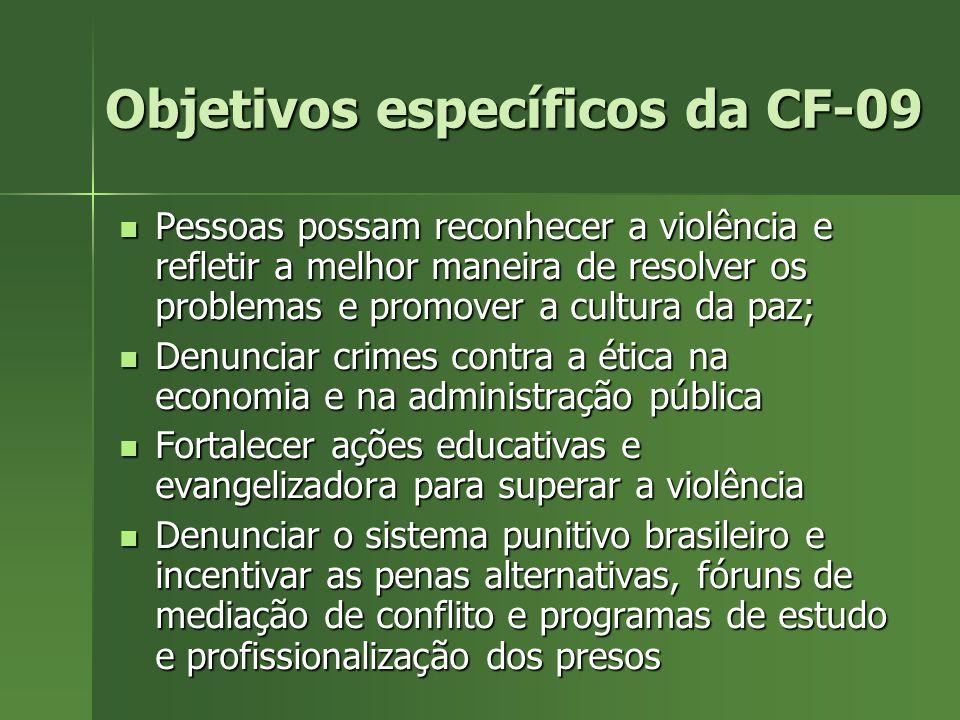 Objetivos específicos da CF-09