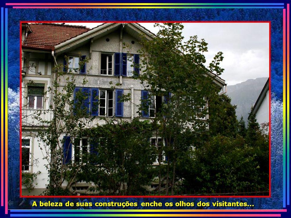 A beleza de suas construções enche os olhos dos visitantes...