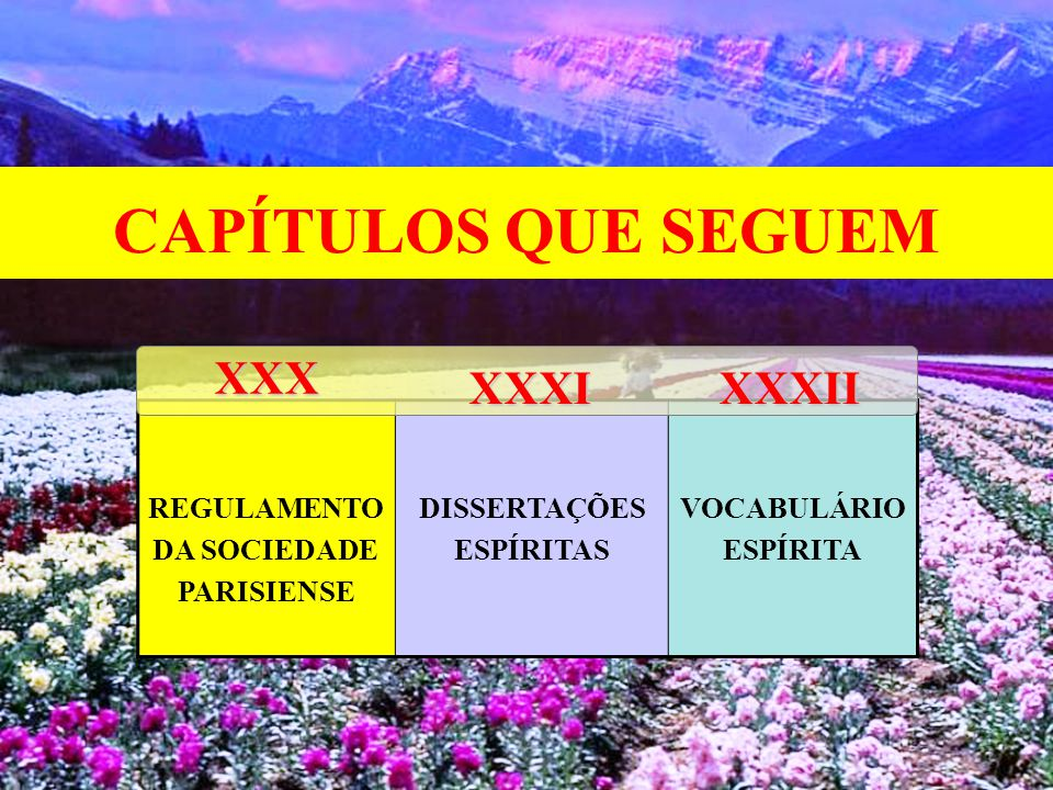 CAPÍTULOS QUE SEGUEM XXX XXXI XXXII REGULAMENTO DA SOCIEDADE