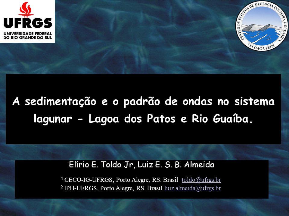 A sedimentação e o padrão de ondas no sistema lagunar - Lagoa dos Patos e Rio Guaíba.