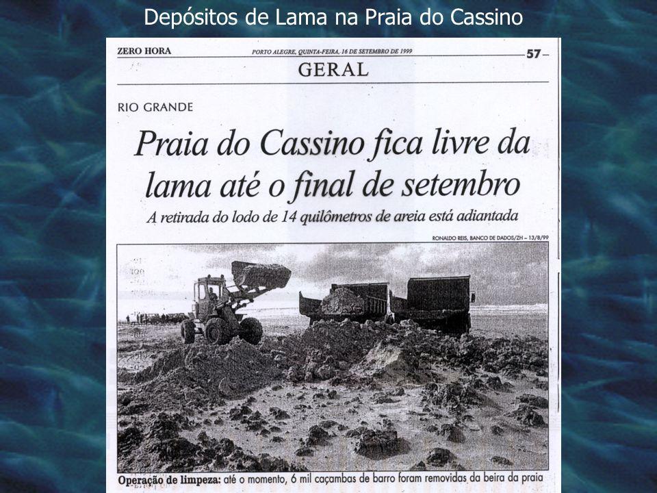 Depósitos de Lama na Praia do Cassino