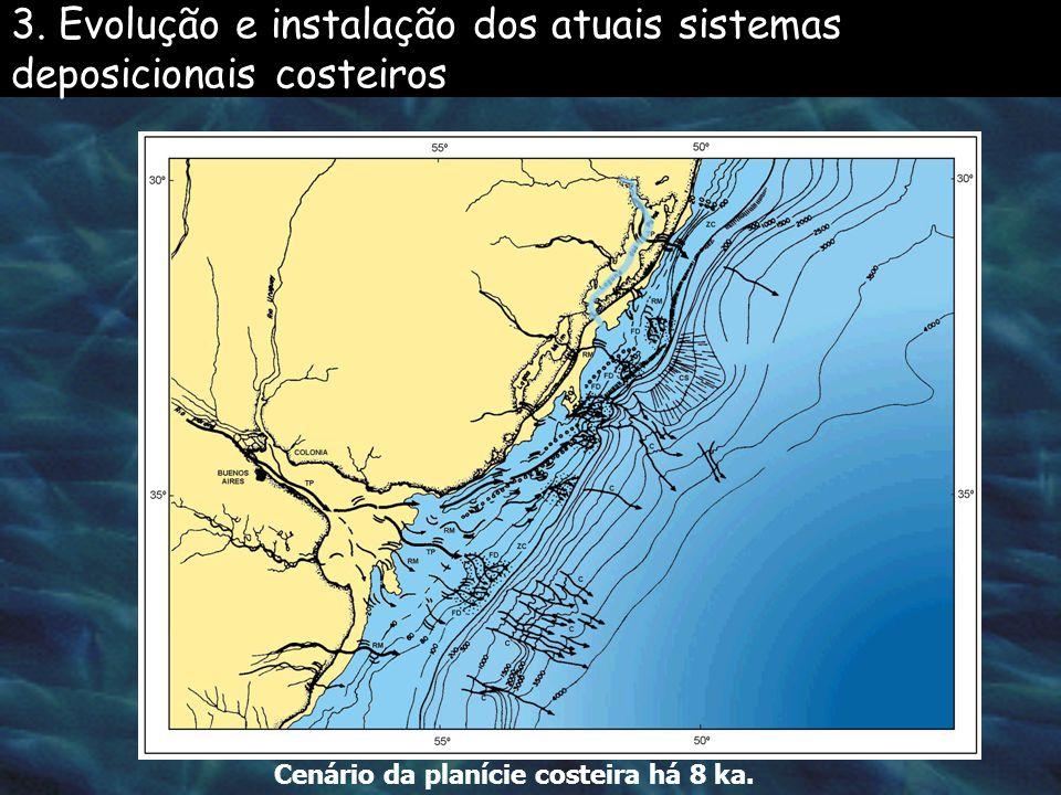 3. Evolução e instalação dos atuais sistemas deposicionais costeiros
