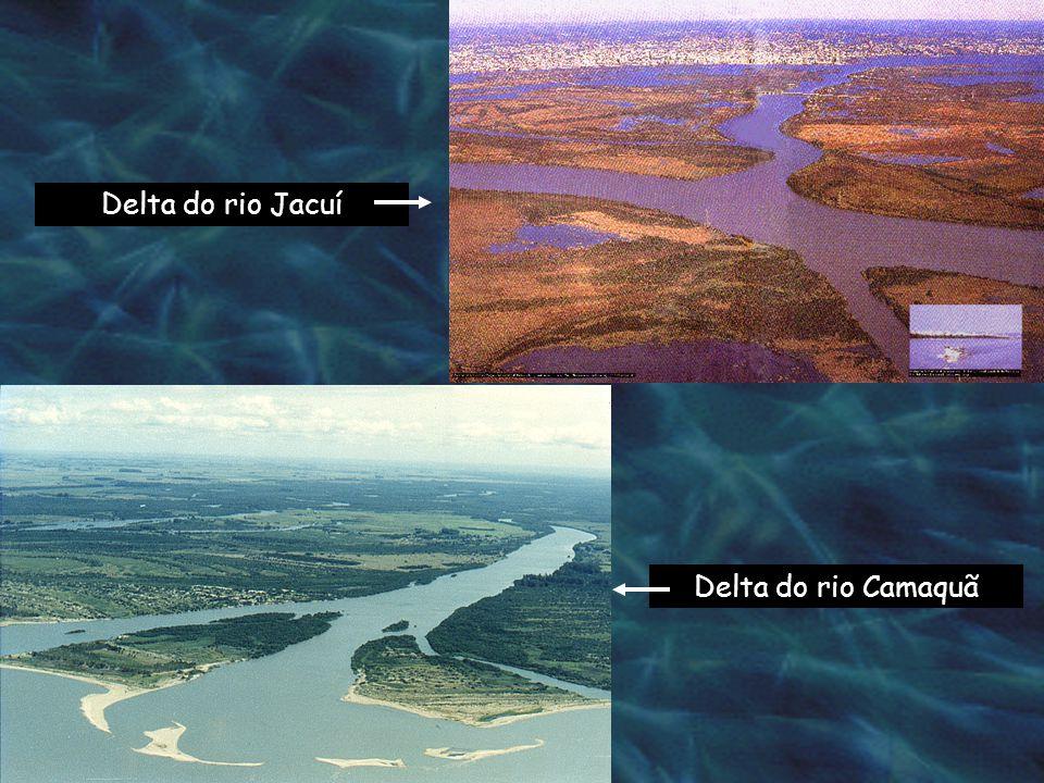 Delta do rio Jacuí Delta do rio Camaquã