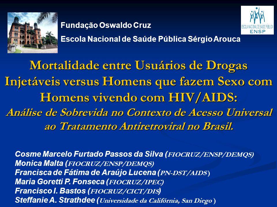 Fundação Oswaldo Cruz Escola Nacional de Saúde Pública Sérgio Arouca.