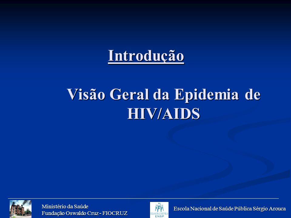 Introdução Visão Geral da Epidemia de HIV/AIDS