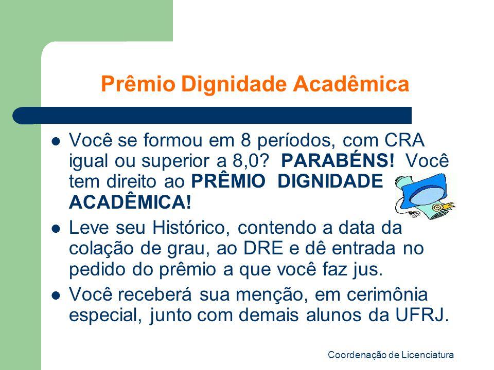 Prêmio Dignidade Acadêmica