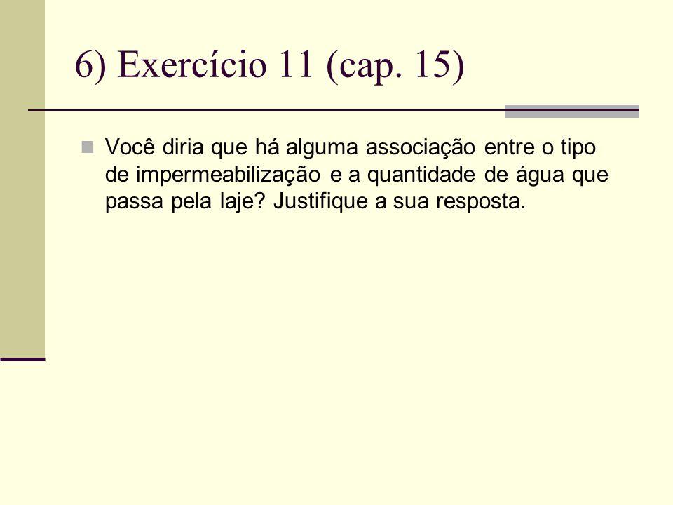 6) Exercício 11 (cap. 15)
