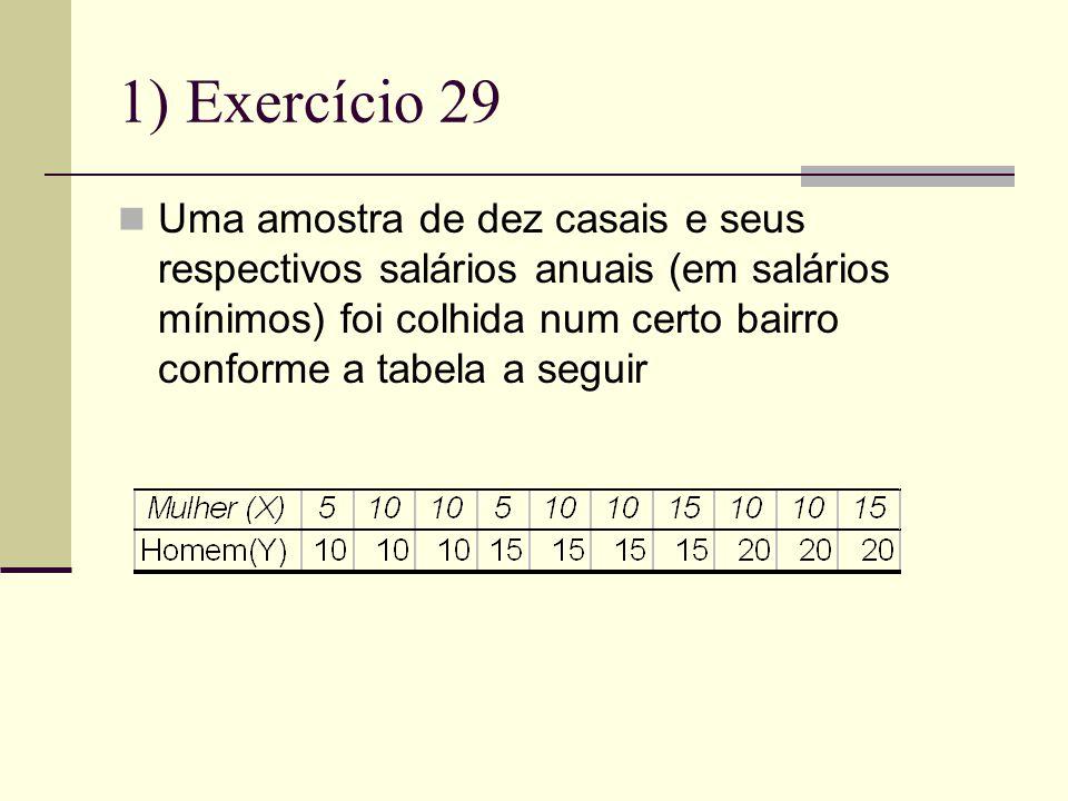 1) Exercício 29