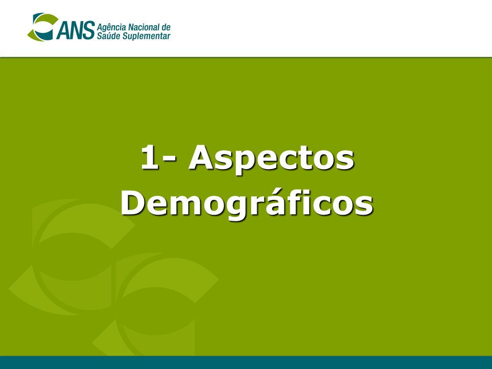 1- Aspectos Demográficos