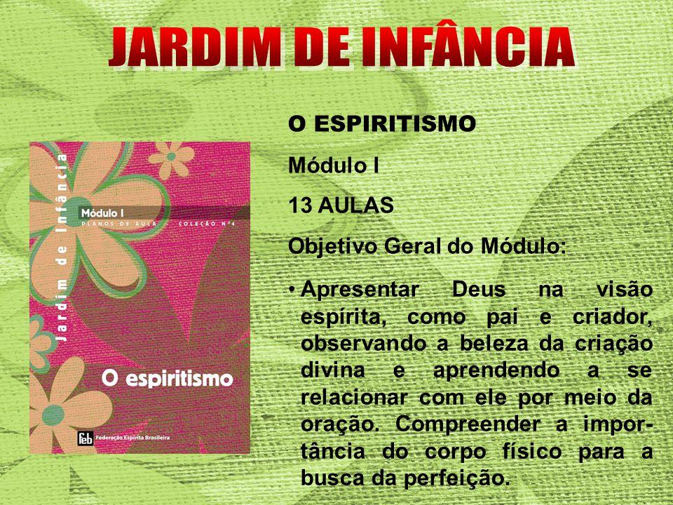 JARDIM DE INFÂNCIA O ESPIRITISMO Módulo I 13 AULAS