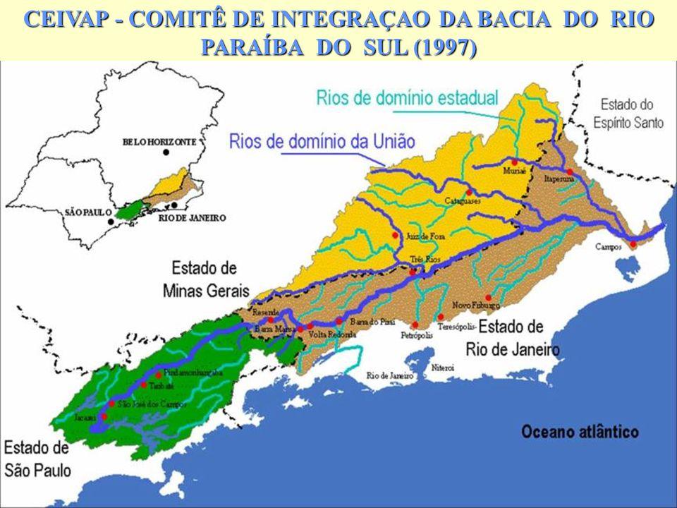 CEIVAP - COMITÊ DE INTEGRAÇAO DA BACIA DO RIO PARAÍBA DO SUL (1997)