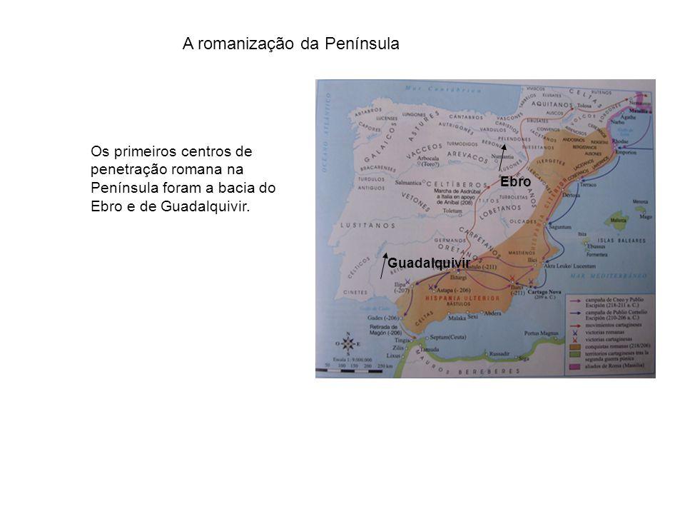 A romanização da Península