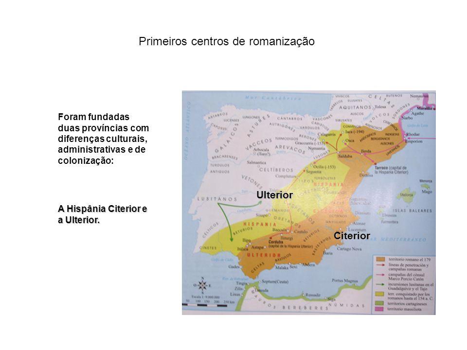 Primeiros centros de romanização