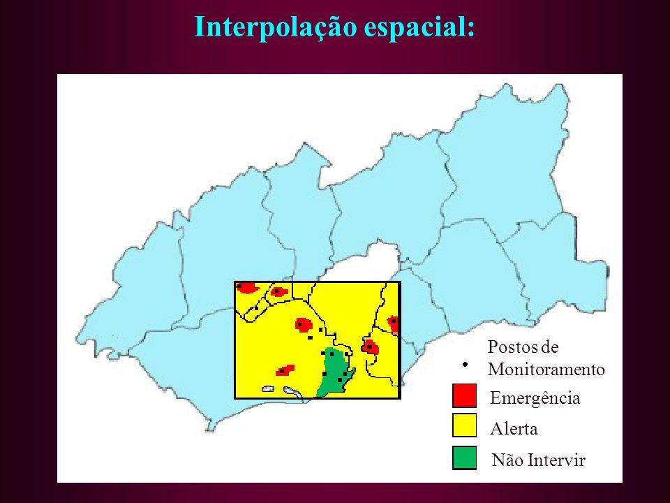 Interpolação espacial: