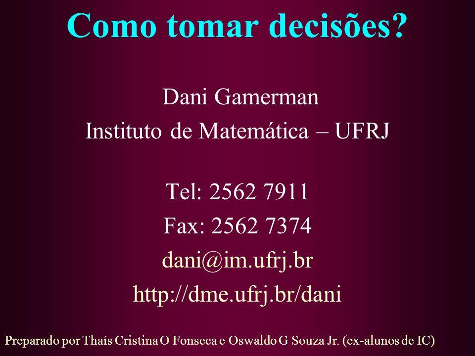 Instituto de Matemática – UFRJ