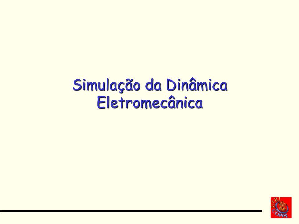 Simulação da Dinâmica Eletromecânica