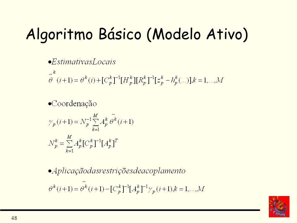 Algoritmo Básico (Modelo Ativo)