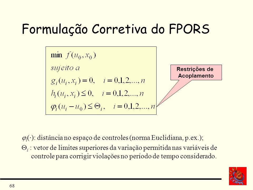 Formulação Corretiva do FPORS