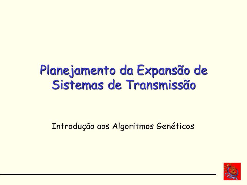 Planejamento da Expansão de Sistemas de Transmissão