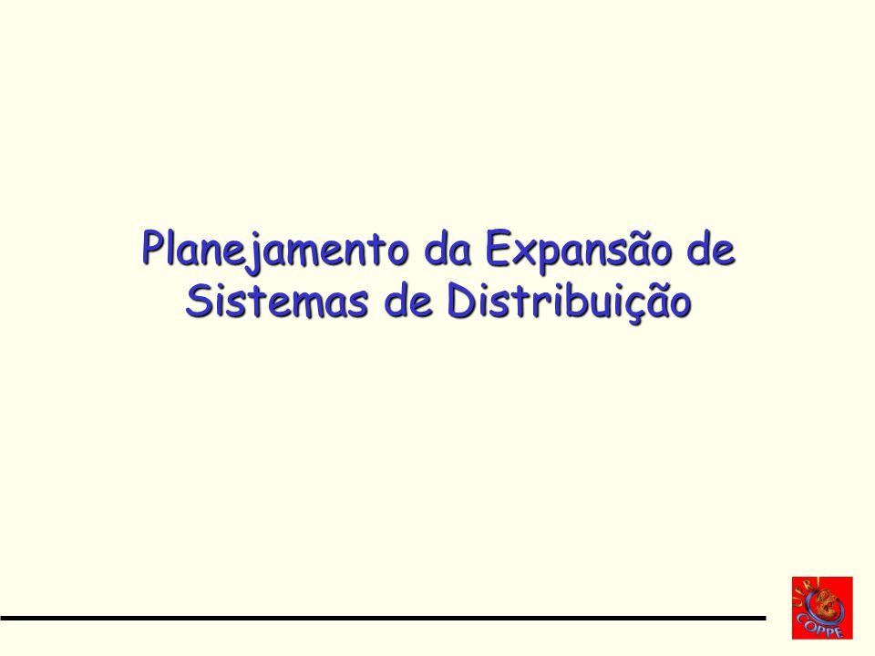 Planejamento da Expansão de Sistemas de Distribuição