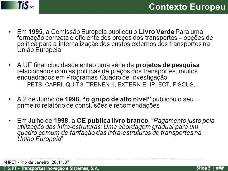 Contexto Europeu