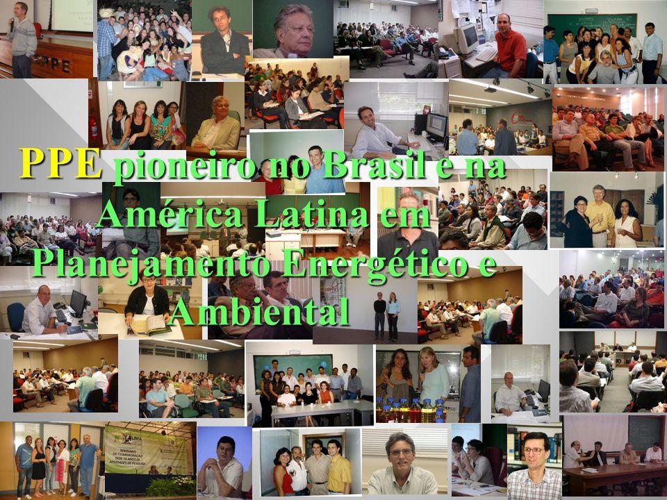 PPE pioneiro no Brasil e na América Latina em Planejamento Energético e Ambiental